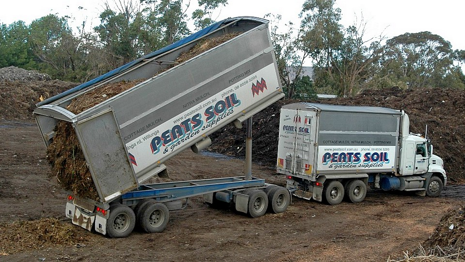 Peats soil maf composting systems for Topsoil adelaide